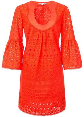 Trina Turk flared-sleeve mini dress