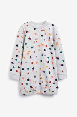 Billieblush Billie Blush Girls Grey Spot Dress - Grey