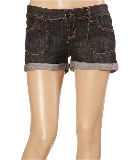 ...Lost - Geo Denim Short (Dark Wash)