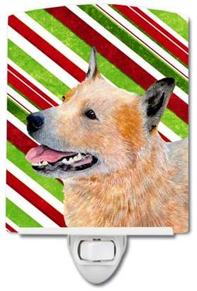Caroline's Treasures Australian Cattle Dog Christmas Ceramic Night Light
