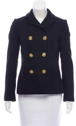 Tory Burch Short Double-Breasted Coat