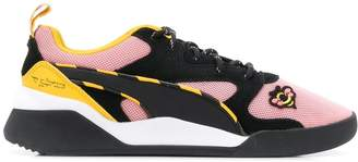 Puma suede lace up sneakers