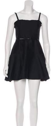 Halston Sleeveless Mini Dress w/ Tags