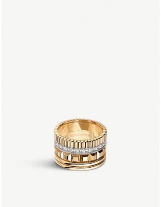 Boucheron Quatre Radiant Edition 18ct yellow-gold and diamond ring