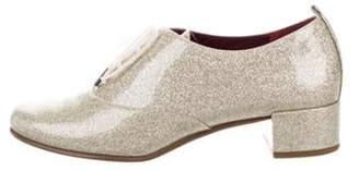 Marc Jacobs Diamond Glitter Oxfords Metallic Diamond Glitter Oxfords