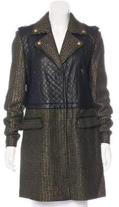 Walter Baker Long Sleeve Knit Coat w/ Tags