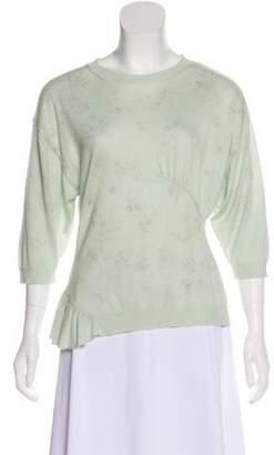 Nina Ricci Cashmere Knit Top