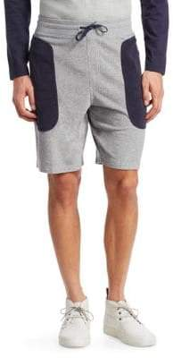 Madison Supply Colorblock Heather Terry Shorts