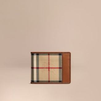 Burberry Horseferry Check Wallet $350 thestylecure.com