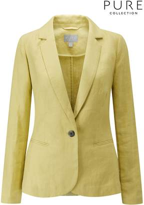 Next Womens Pure Collection Laundered Linen Jacket