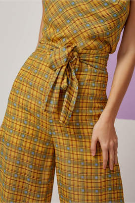 Finders Keepers SORRENTO PANT lemon check
