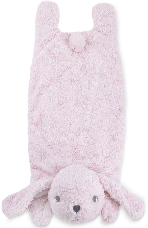 Cuddle Me Luxury Plush Tummy Time Mat Blanket Pink Bunny Bedding