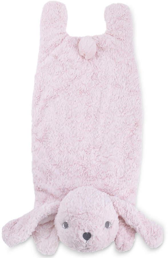 Cuddle Me Luxury Plush Tummy Time Mat Blanket Pink Bunny Bedding