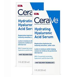 CeraVe Hyaluronic Acid Face Serum | 2 Pack
