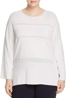 Marina Rinaldi Ala Rib-Knit Sweater