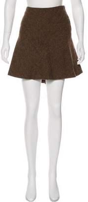 Ralph Lauren Rugby Mini Wool Skirt w/ Tags