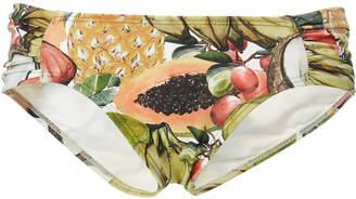 Agua de Coco Printed Bikini Bottom