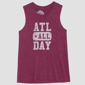 Awake Women's ATL All Day Graphic Tank Top Charcoal XXL