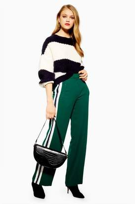 Topshop Womens Side Stripe Slouch Joggers