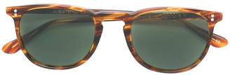 L.G.R streak effect round frame sunglasses