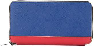 Marni long two-tone wallet