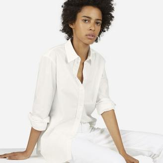 The Relaxed Poplin Shirt $65 thestylecure.com