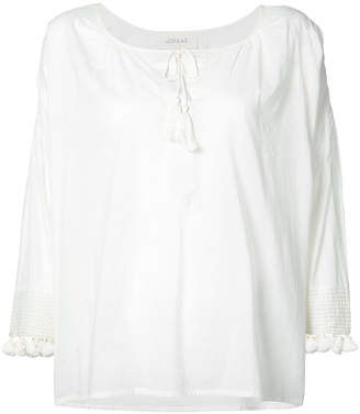 The Great pom pom detail blouse