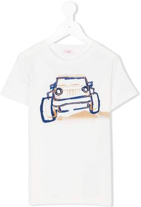 Il Gufo car print T-shirt