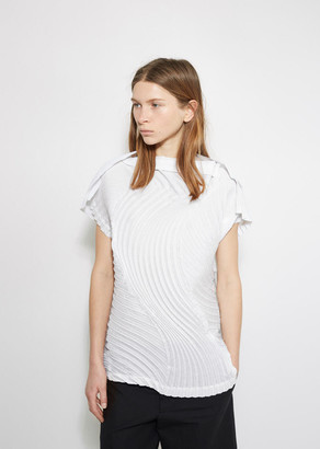Issey Miyake Leafage Top $855 thestylecure.com