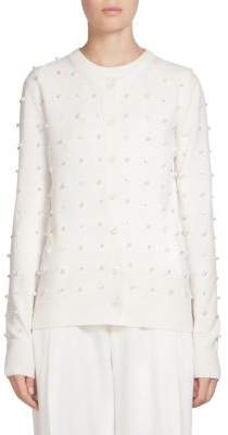 Givenchy Embellished Pearl Cardigan