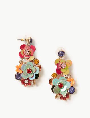 Marks and Spencer Flower Chandelier Drop Earrings