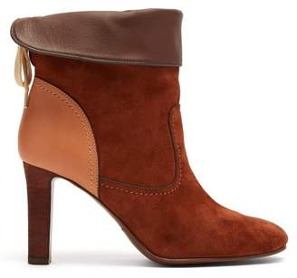 See by Chloe Lara Suede Boots - Womens - Tan
