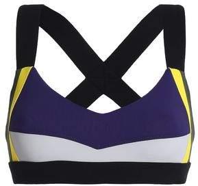 NO KA 'OI Color-Block Stretch Sports Bra