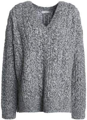 Vince Marled Cable-Knit Sweater
