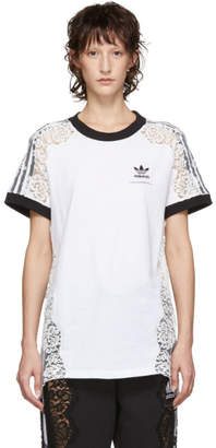 Stella McCartney White adidas Edition Lace T-Shirt