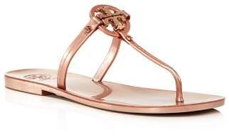 Tory Burch Mini Miller Jelly Flat Thong Sandals