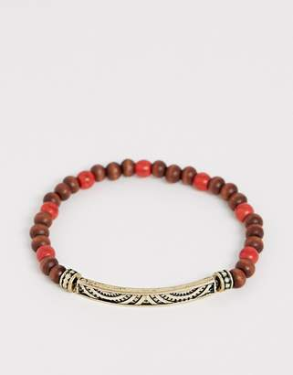 Classics 77 beaded bracelet in orange