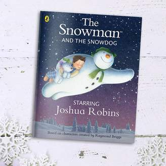 Penwizard The Snowman And The Snowdog Personalised Book