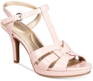Bandolino Sarahi Platform Dress Sandals $69 thestylecure.com