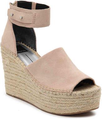 Dolce Vita Straw Espadrille Wedge Sandal - Women's