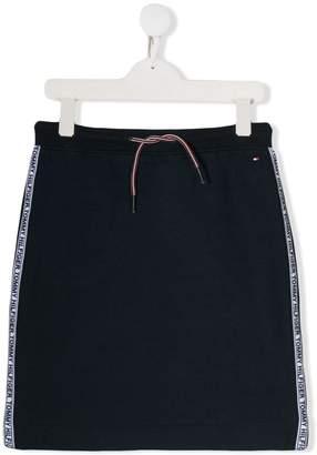 Tommy Hilfiger Junior TEEN jersey skirt