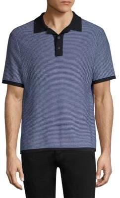 Rag & Bone Finn Short-Sleeve Polo