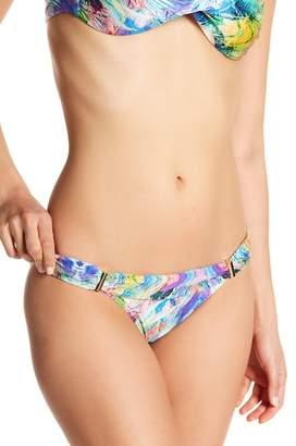 Cia.Maritima Print Foldover Waist Bikini Bottoms