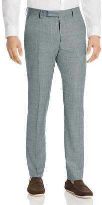 Paul Smith Micro Check Slim Fit Suit Pants