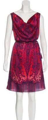 Calypso Silk Paisley Dress