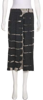 Raquel Allegra Printed Knee-Length Skirt