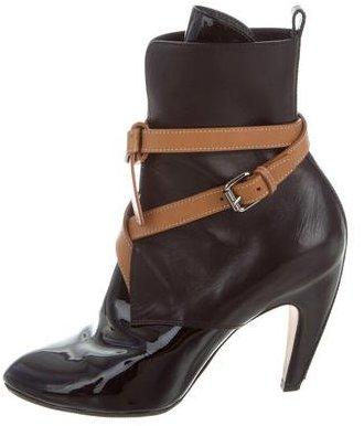 Louis Vuitton Wrap-Around Ankle Boots
