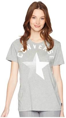 Converse Split Star Crew Tee Women's T Shirt