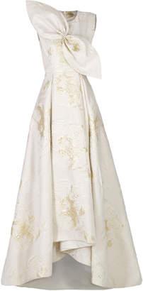 Anatomi Brocade I Pleated Dress