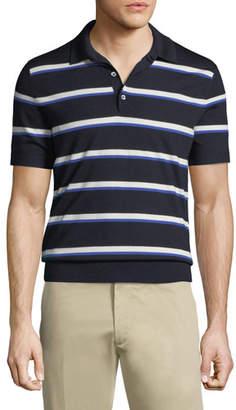 Ralph Lauren Striped Knit Polo Shirt